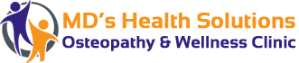 MD's Health Solutions Osteopathy & Wellness Clinic Logo