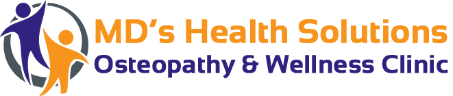MD's Health Solutions Osteopathy & Wellness Clinic Retina Logo